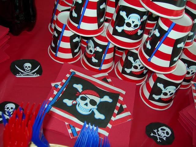 Festa di compleanno a tema pirati