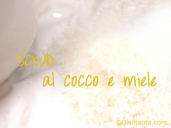 scrub al cocco e miele