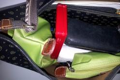 Di cambiamenti: la borsa da mamma