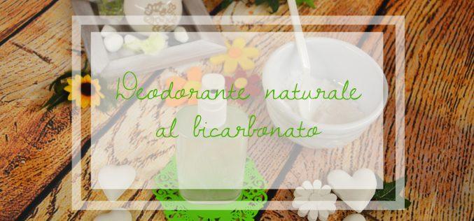Deodorante naturale fai da te: bicarbonato e olii essenziali