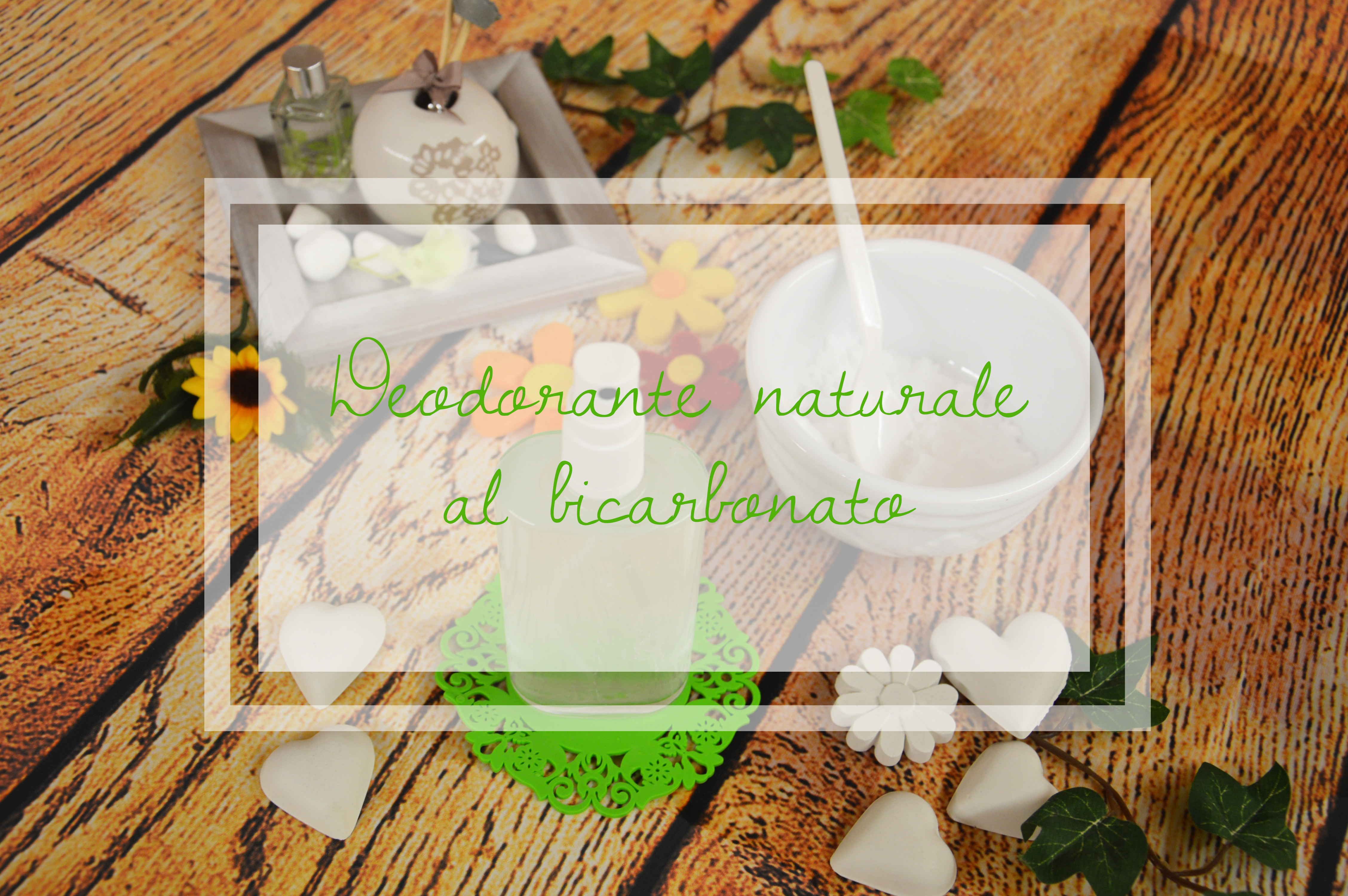 deodorante naturale fai da te