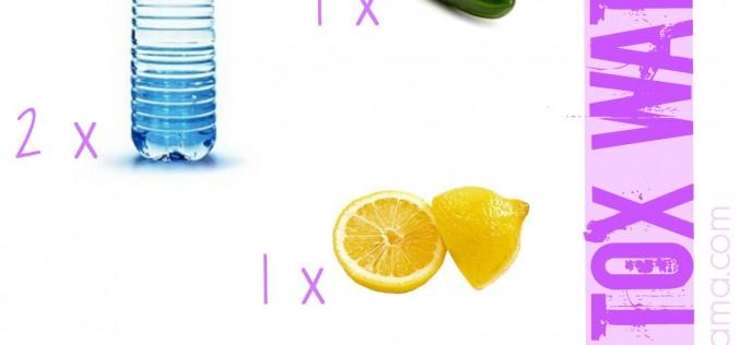 Detox water (#readyforsummer)