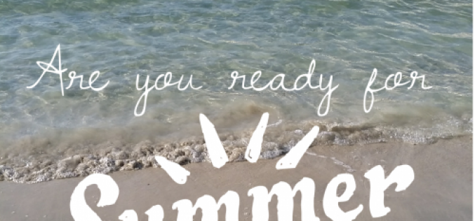 Are you #readyforsummer ?