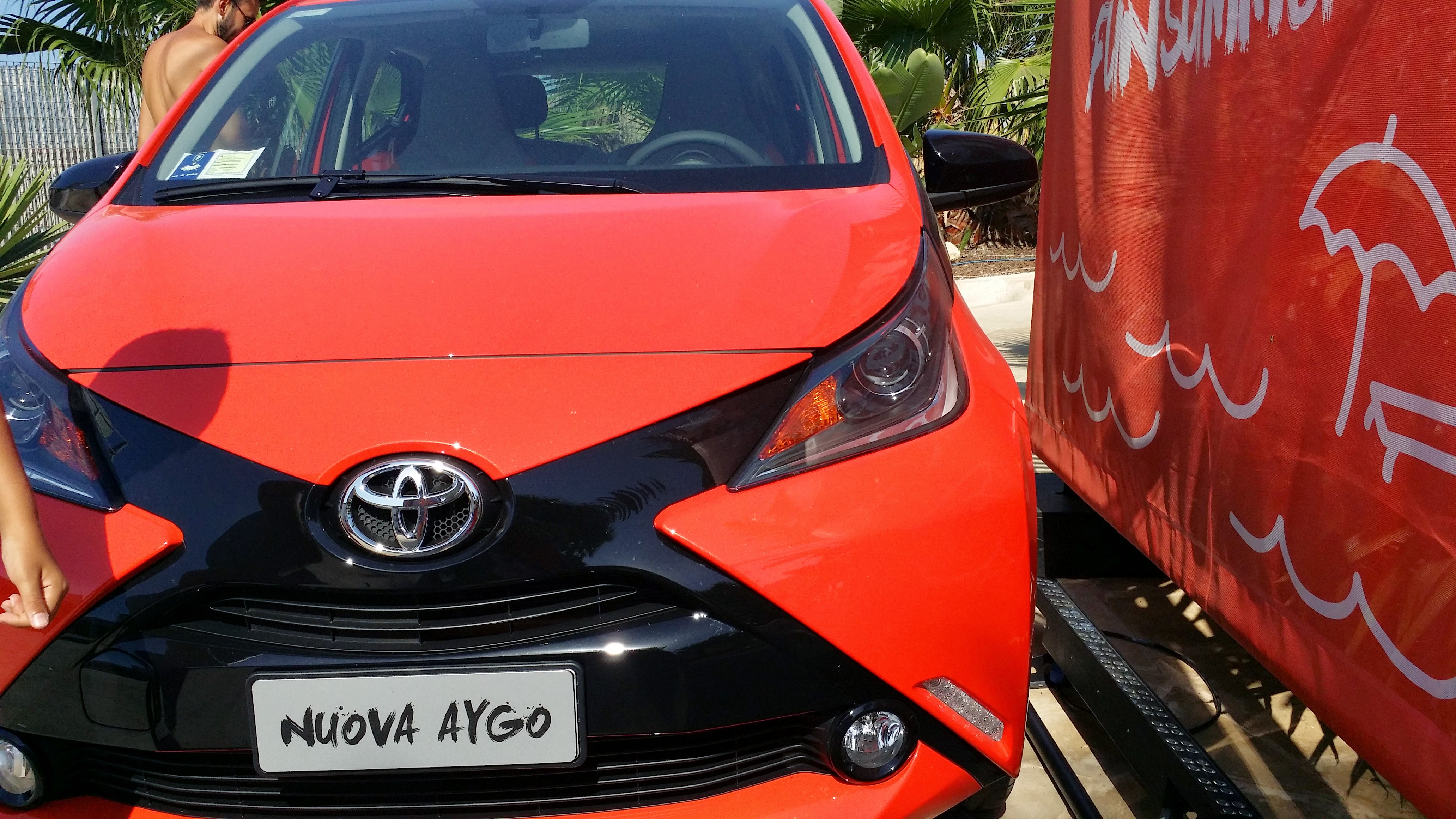 Aygo Fun Summerweek end