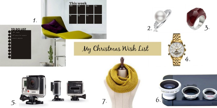 regali di Natale -Christmas Wish List