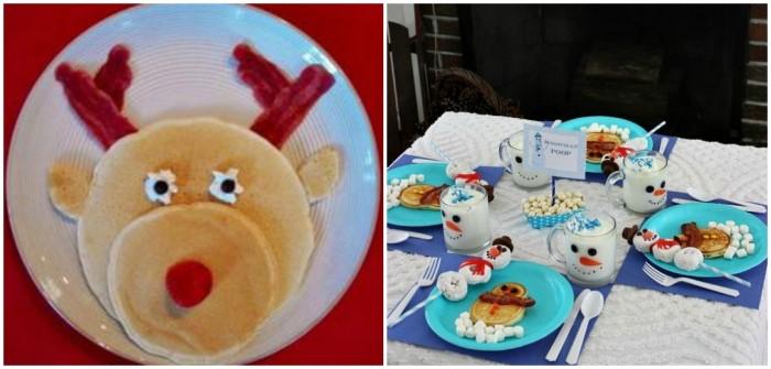 colazione natalizia per bambini