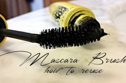 4 modi per riutilizzare il pennellino del mascara