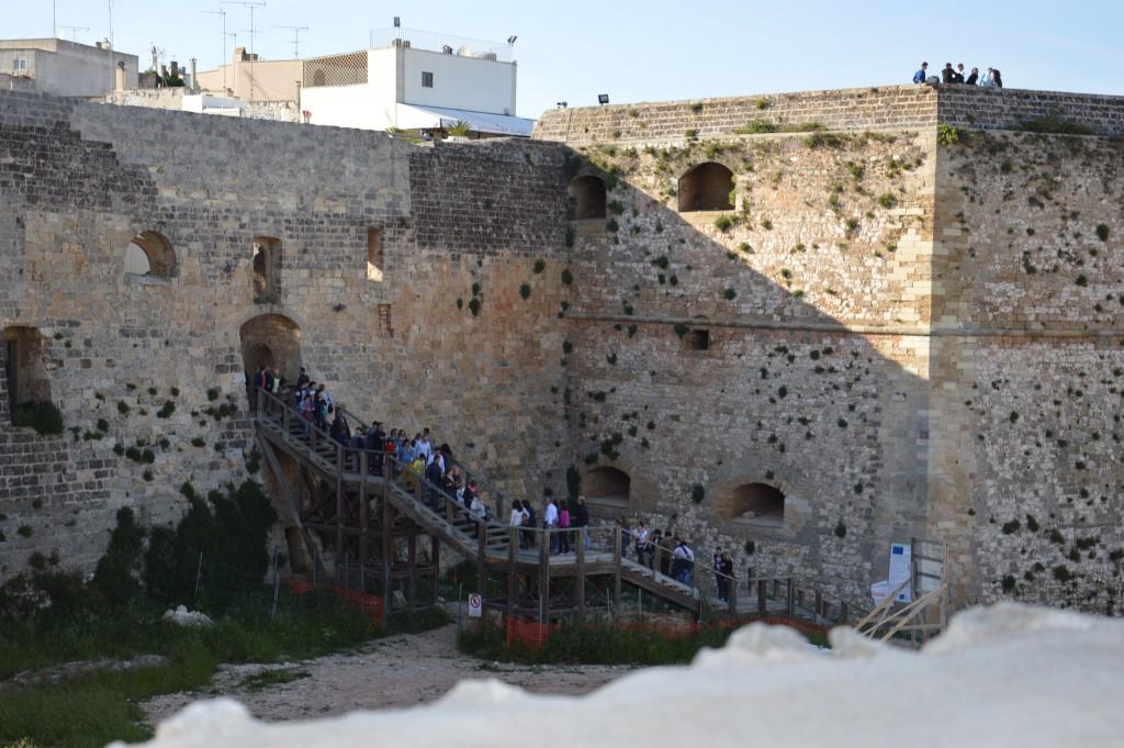 visitare Otranto: il castello aragonese