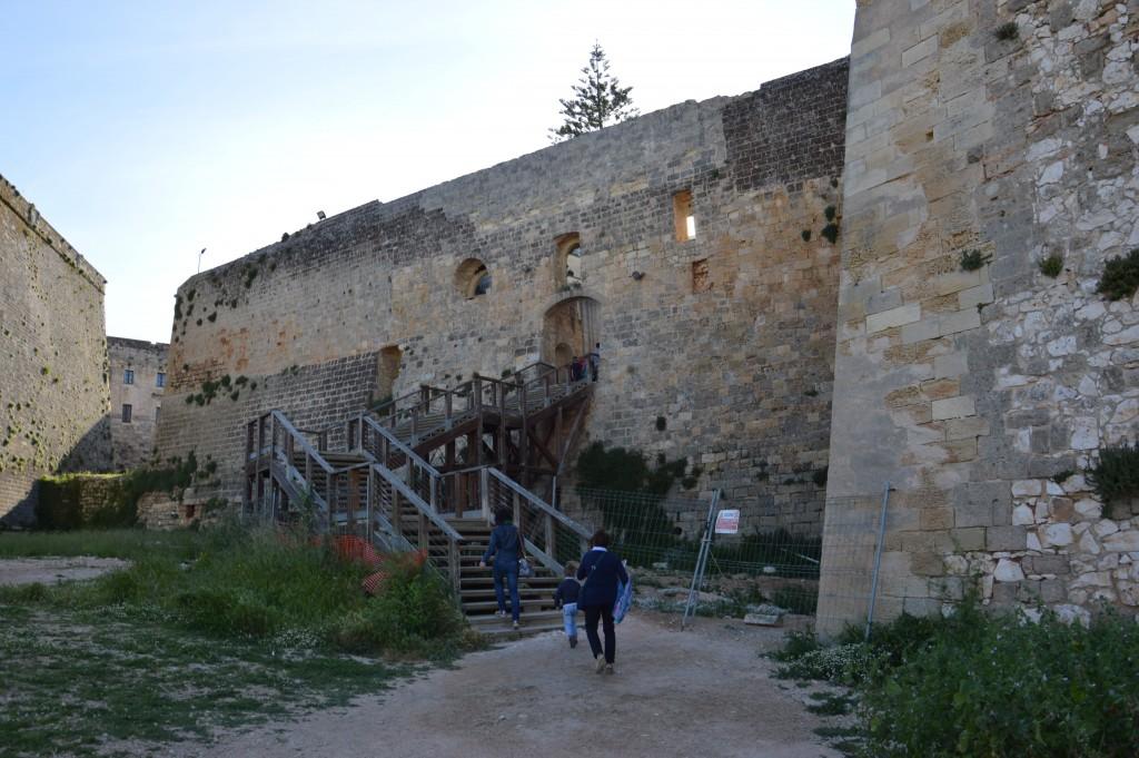 visitare Otranto le mura