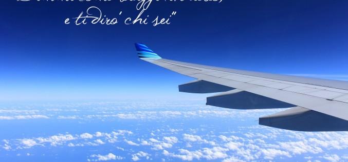 Viaggiare in aereo in estate: look e abitudini (le mie)