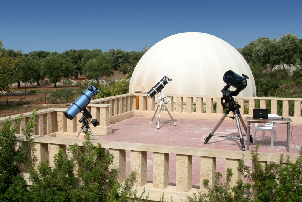 Sidereus: il parco astronomico del Salento