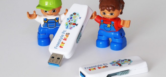Un computer per bambini con Freestyle Pc for Kids