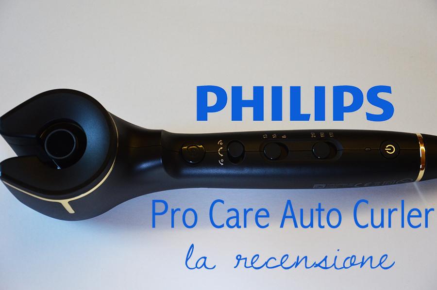 Capelli ricci in 5 minuti con Philips Pro Care Auto Curler