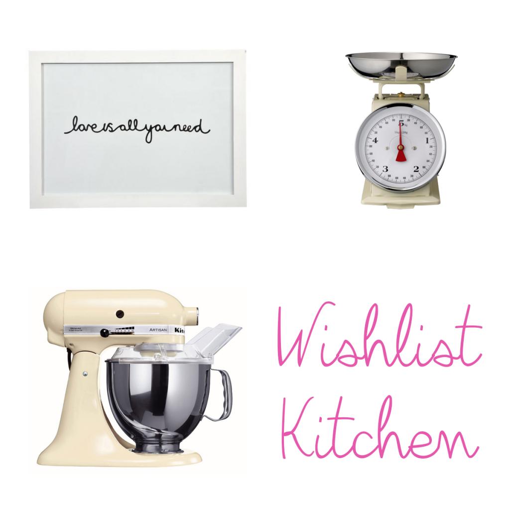 wishlist kitchen