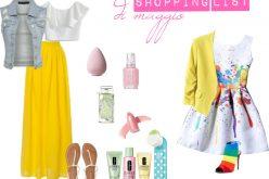 La shopping list di Maggio