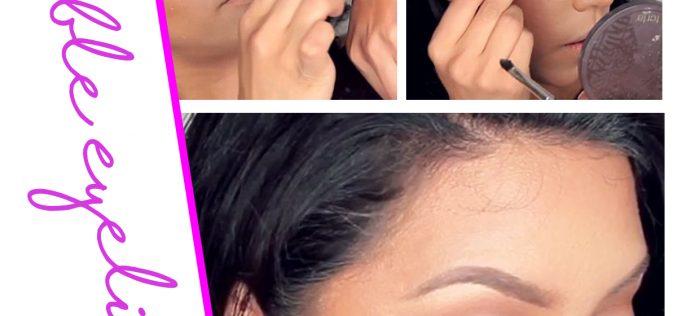 Bubble eyeliner: il trucco occhi divertente
