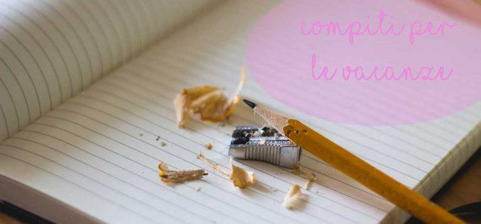 Compiti per le vacanze: libro o schede didattiche?