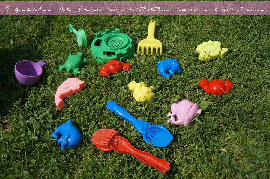 Giochi da fare con i bambini in estate
