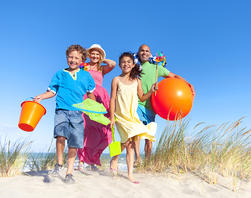 Babysitter in vacanza con la famiglia