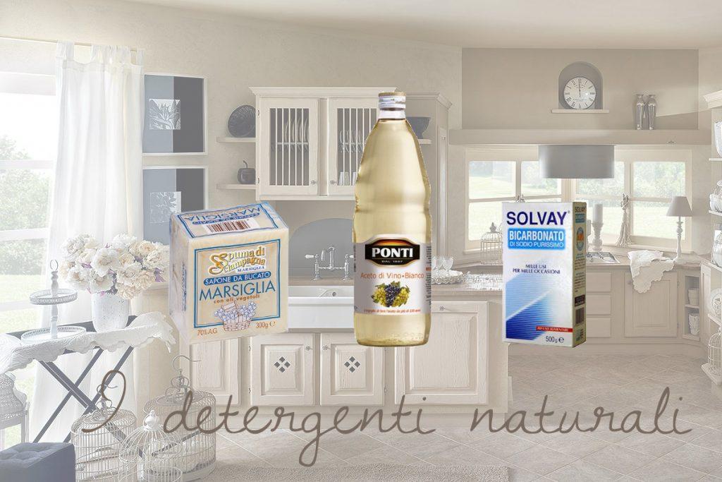 Pulizie domestiche detergenti naturali