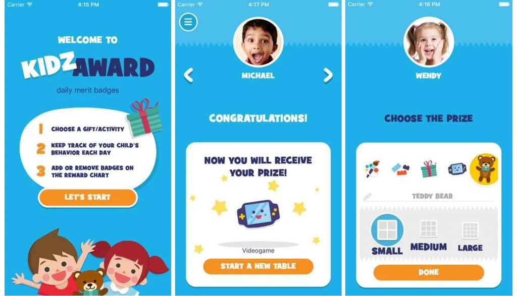 kidzaward-app-premia-bambini