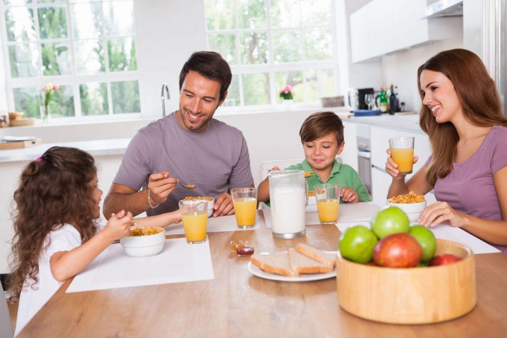 La colazione dei bambini