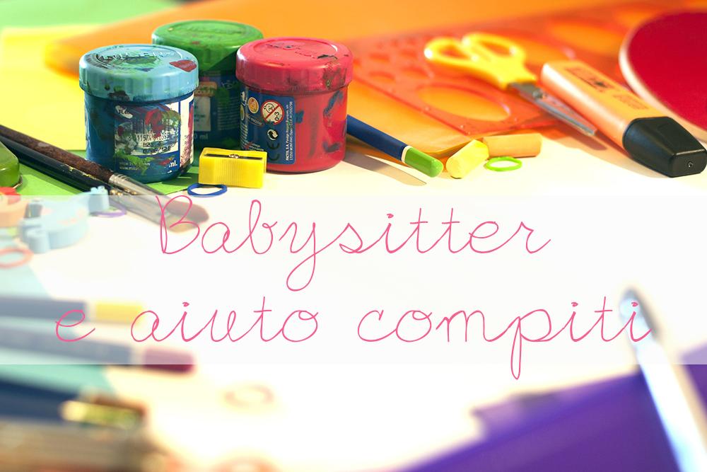 Babysitter e aiuto compiti