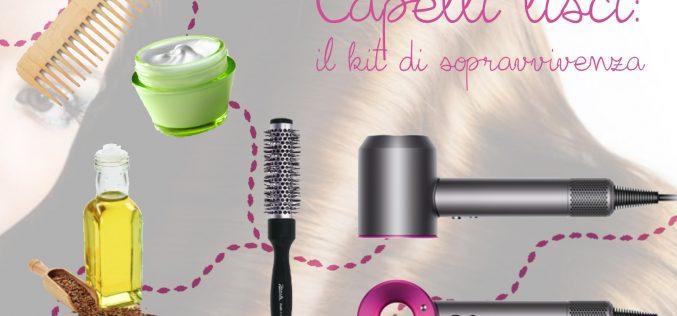 Avere capelli lisci: il kit di sopravvivenza per non rovinare i capelli