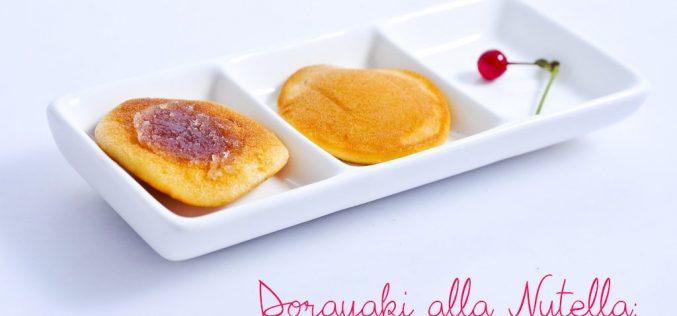 Dorayaki alla Nutella: i pancake di Doraemon