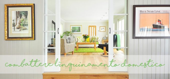 5 modi di combattere l'inquinamento domestico e migliorare la qualità dell'aria in casa