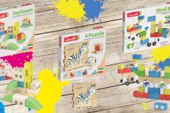 Quercetti Wood: giocattoli in legno per un Natale vintage