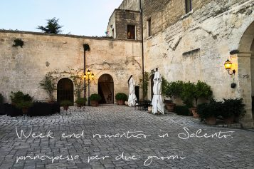 Week end romantico in Salento… in un Castello del 1500