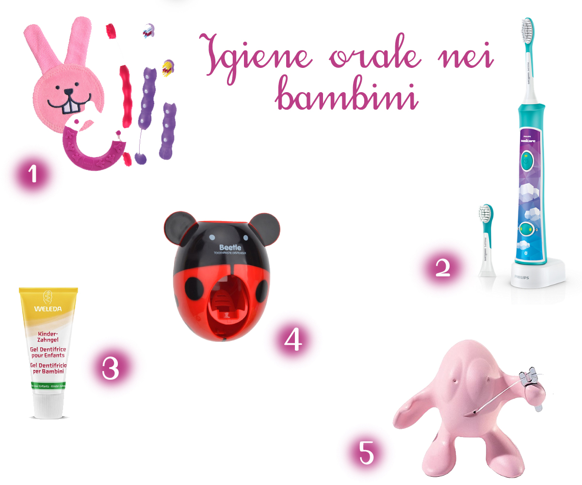 Igiene orale nei bambini gli indispensabili