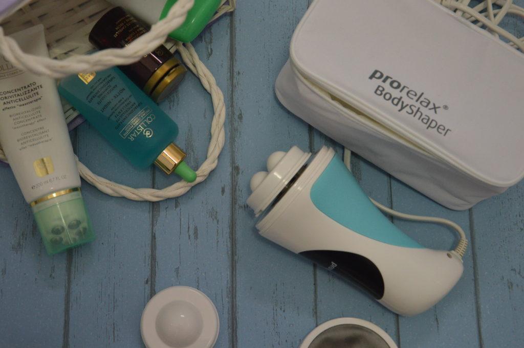 Massaggio anticellulite con Prorelax Body Shaper
