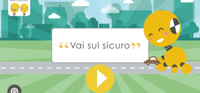 Vai sul sicuro: l'app sulla sicurezza in auto per i bambini