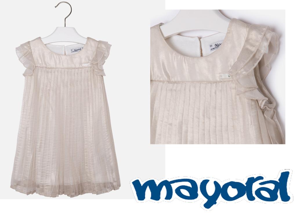 Per gli abiti da cerimonia per bambina ho scelto Mayoral  b5910865121c