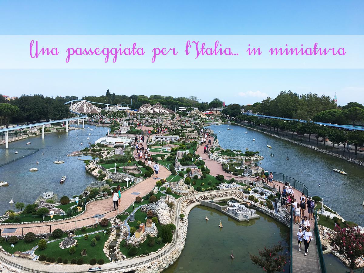 Italia in Miniatura vista dalla monorotaia