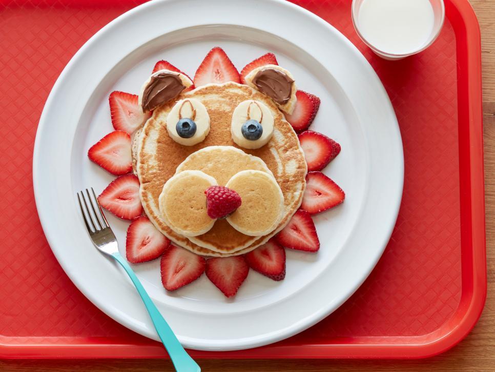 Pigiama party per bambine la colazione