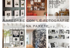 Come arredare con le fotografie una parete