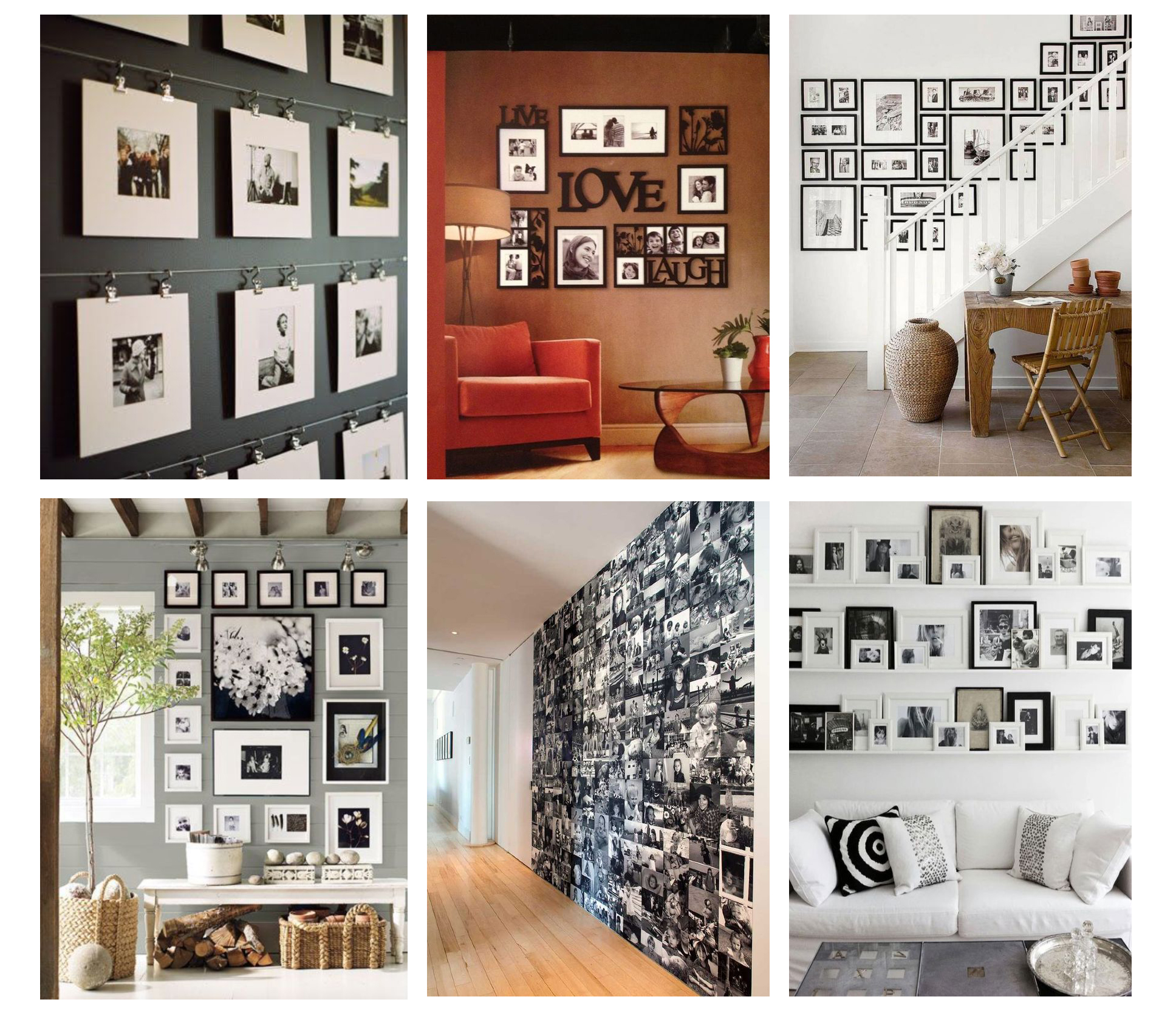 Come arredare con le fotografie una parete bismama for Arredare con fotografie