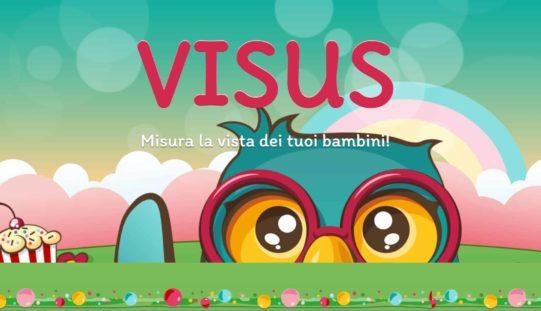 VISUS: l'app per controllare la vista dei bambini