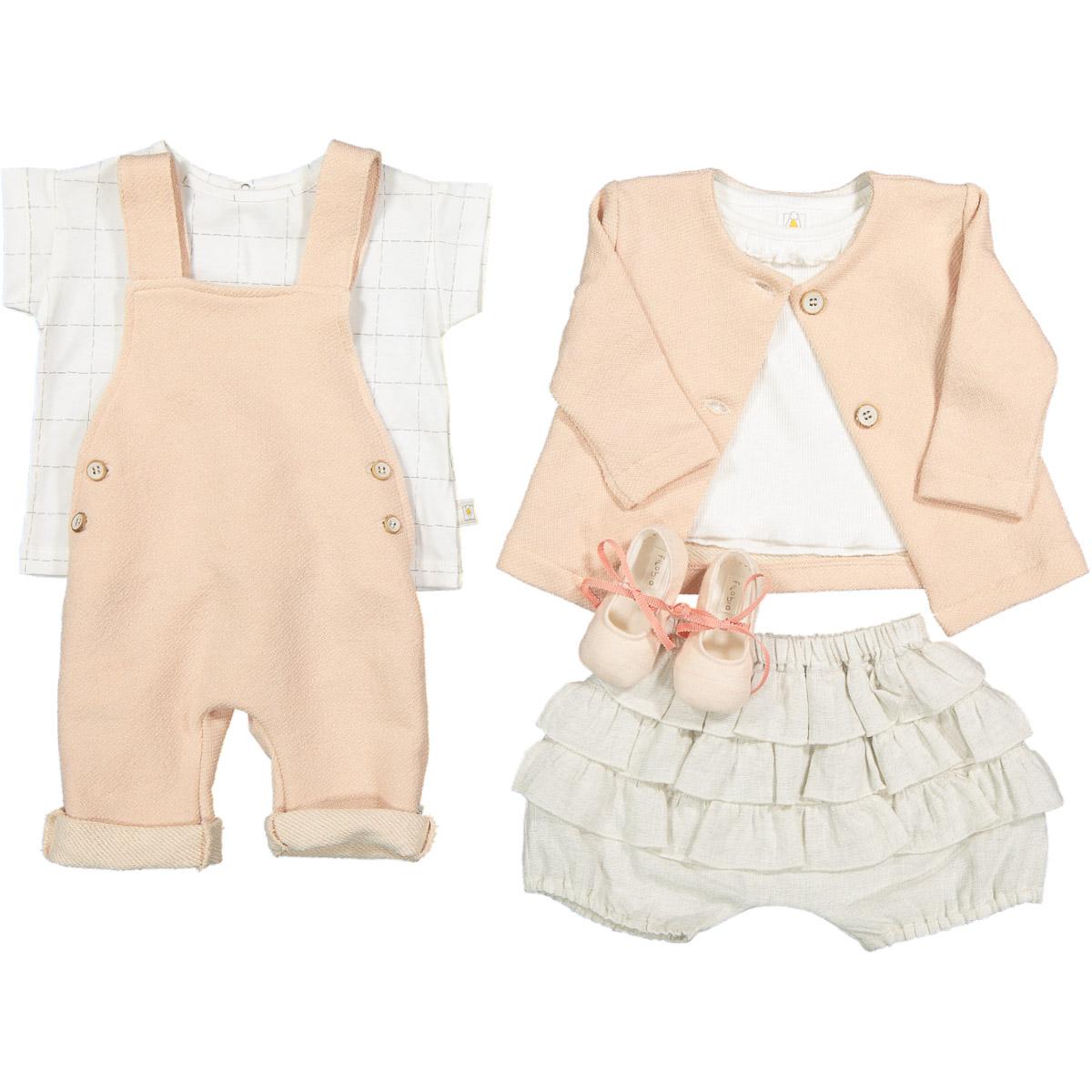FILOBIO presenta la nuova collezione newborn per l'estate BAMBOO e LINO