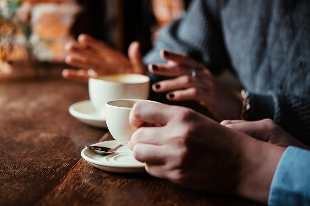 Bere un caffè in compagnia