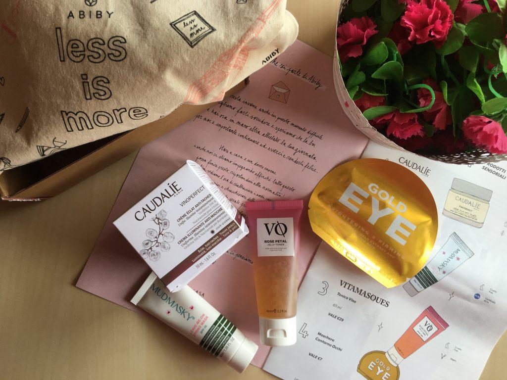 Abiby Beauty Box di Aprile 2020