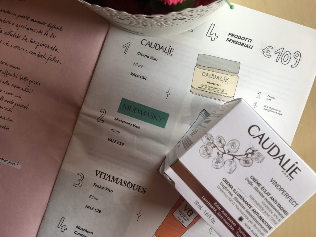 Crème Jour Eclat Anti-taches Vinoperfect Caudalìe
